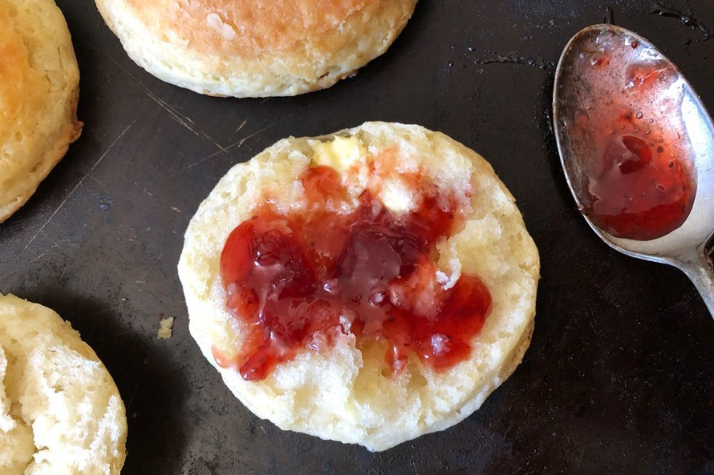 The Genius Secrets to Carla Hall's Flaky Buttermilk Biscuits