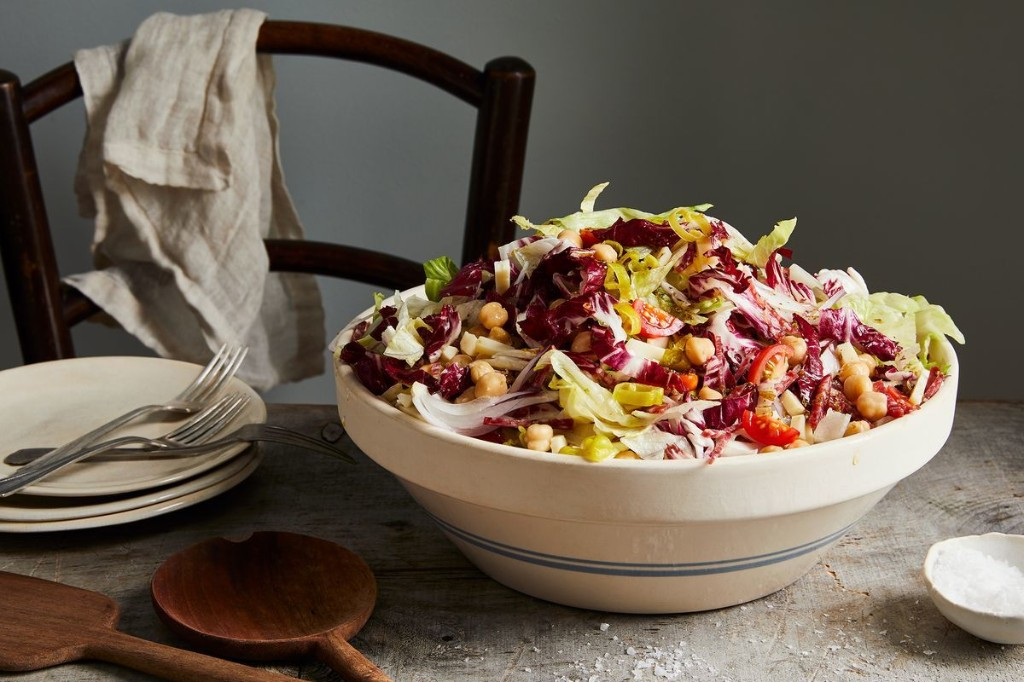 The Genius Chopped Salad Everyone's (Still) Talking About