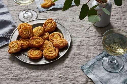 10-Minute Parmesan & Mustard Pinwheels Recipe on Food52