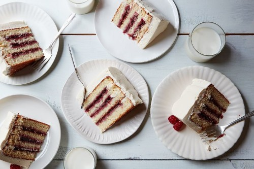 How to Build a Lofty Layer Cake from the Ground Up