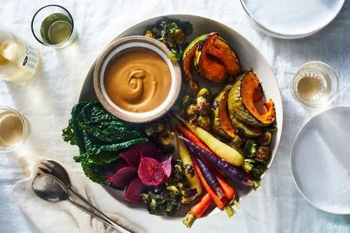 Easy Tahini Sauce Recipe for Fall Vegetables