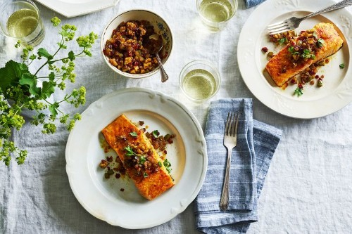 The Persian Salmon That Knocked the Socks Off My NorwegianIn-Laws