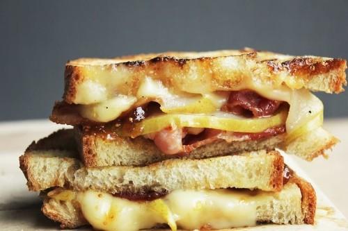 Bacon, Pear, & Brie Panini Recipe on Food52