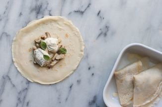 Crespelle with Porcini and Gorgonzola Recipe on Food52