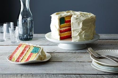 American Flag Cake Recipe on Food52