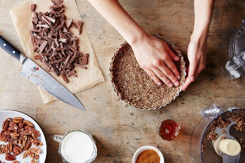 5 ideas for and recipes with nut crusts