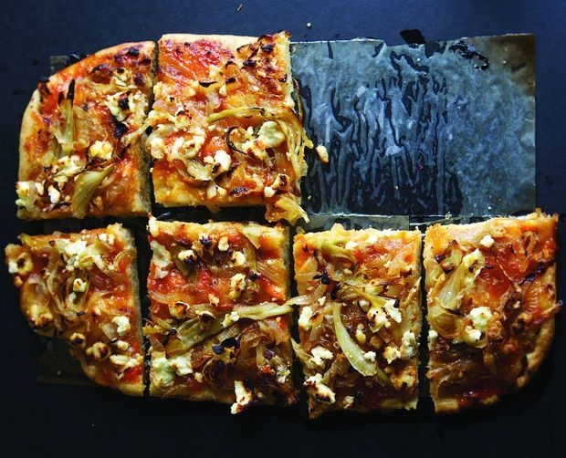 Focaccia with Jam and Caramelized Onions - Guest Editors