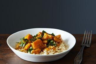 Vegan Kale and White Bean Korma Recipe on Food52