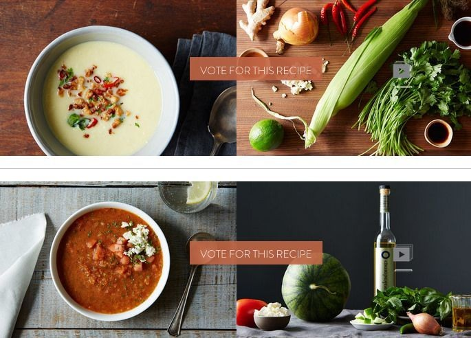 Finalists: Your Best Warm WeatherSoup