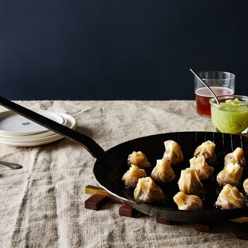 Lamb Dumplings with Cucumber Vinegar Dipping Sauce Recipe on Food52