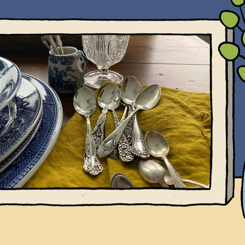 The 12 Silver Spoons That Taught Me the Meaning of Home