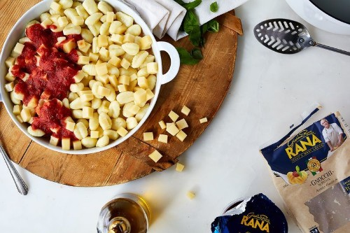 5-Ingredient, Cheesy Baked Gnocchi That You Don't Even Have toMix