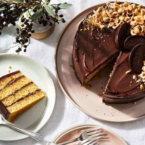 Terry's Chocolate Orange Layer Cake