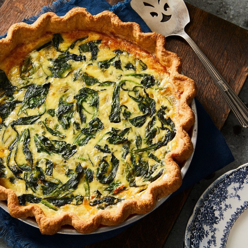 Best Spinach Quiche Recipe