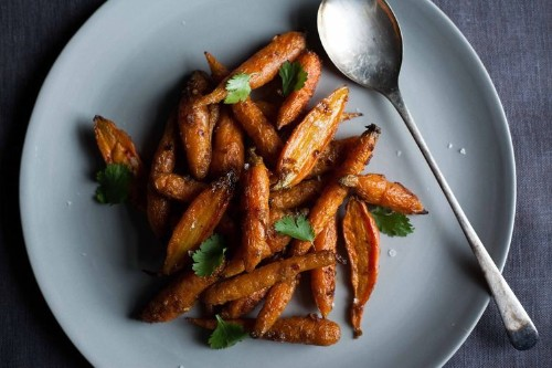 Steam-Roasted Carrots withCumin