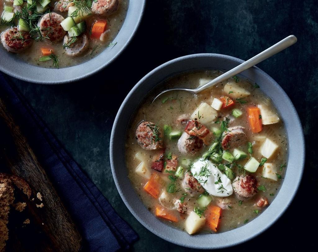 Zurek (Polish Hangover Soup)