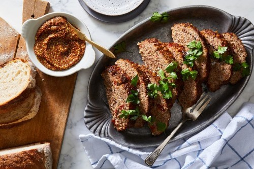 Meatloaf With Brown Sugar & Mustard Glaze Recipe on Food52