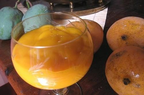 Mango Lassi Frozen Yogurt Recipe on Food52