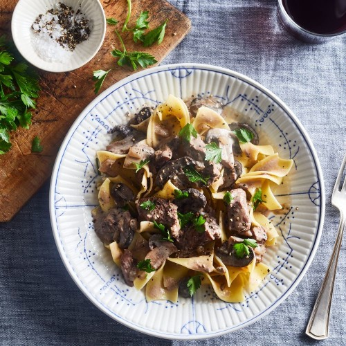 Slow-Cooker Beef Stroganoff With Mushrooms Recipe on Food52
