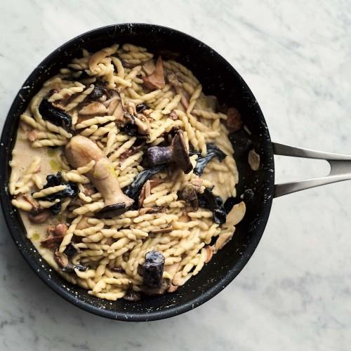 Jamie Oliver's Garlic Mushroom Pasta Recipe on Food52