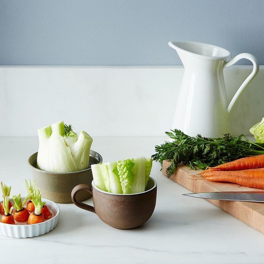 5 Vegetables You Can Regrow Indoors With Just Water & Sunlight