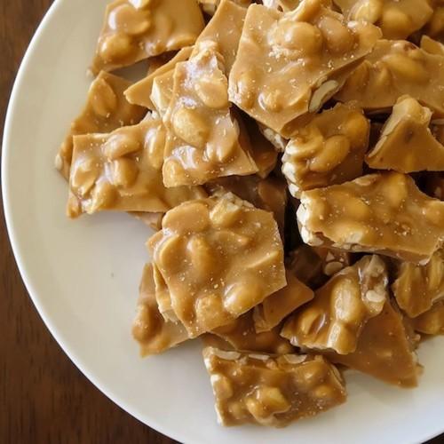 Vegan Peanut Brittle Recipe on Food52