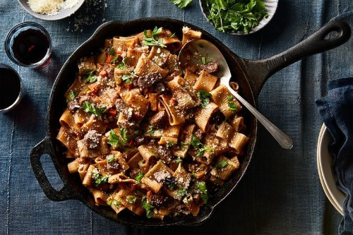 This Bolognese Cooks In The Oven (Yup, The Pasta,Too)
