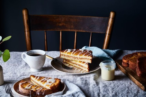 Hong Kong–Style Peanut Butter French Toast with CondensedMilk
