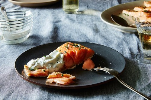 Sally Schneider's Slow-Roasted Salmon (or OtherFish)