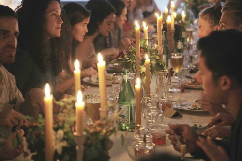 How We Hosted a Genius Dinner Party for30