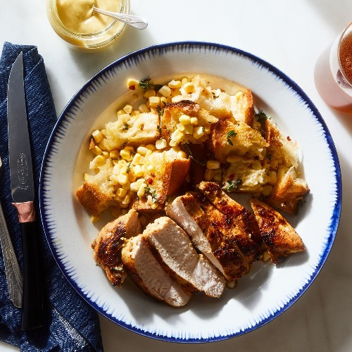 An Easy Chicken Breast Dinner for When You Don't Feel Like Thinking