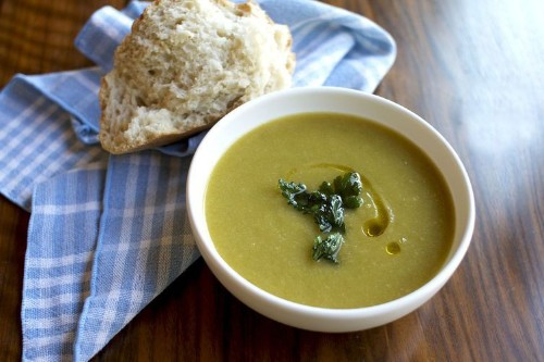 Celery Root and Scallion Soup - Easy Spring Soup Recipe
