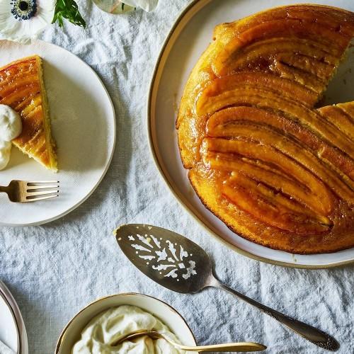 Caramelized Banana Upside-Down Cake Recipe on Food52