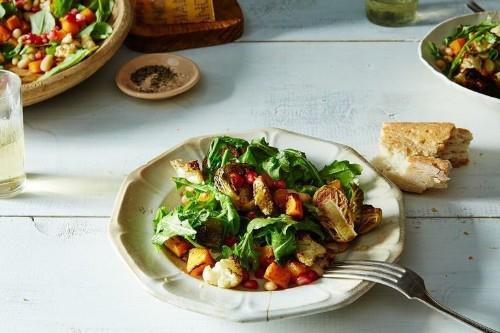 Autumn Salad with HorseradishVinaigrette