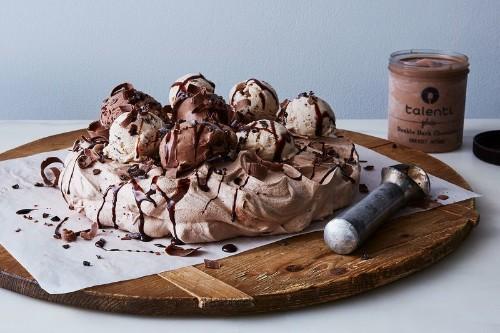 Ice Cream Cake Fanatics: This Extra Chocolatey Version Has aSecret.