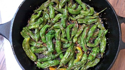 Asian Pan-Fried Shishito Peppers Recipe on Food52