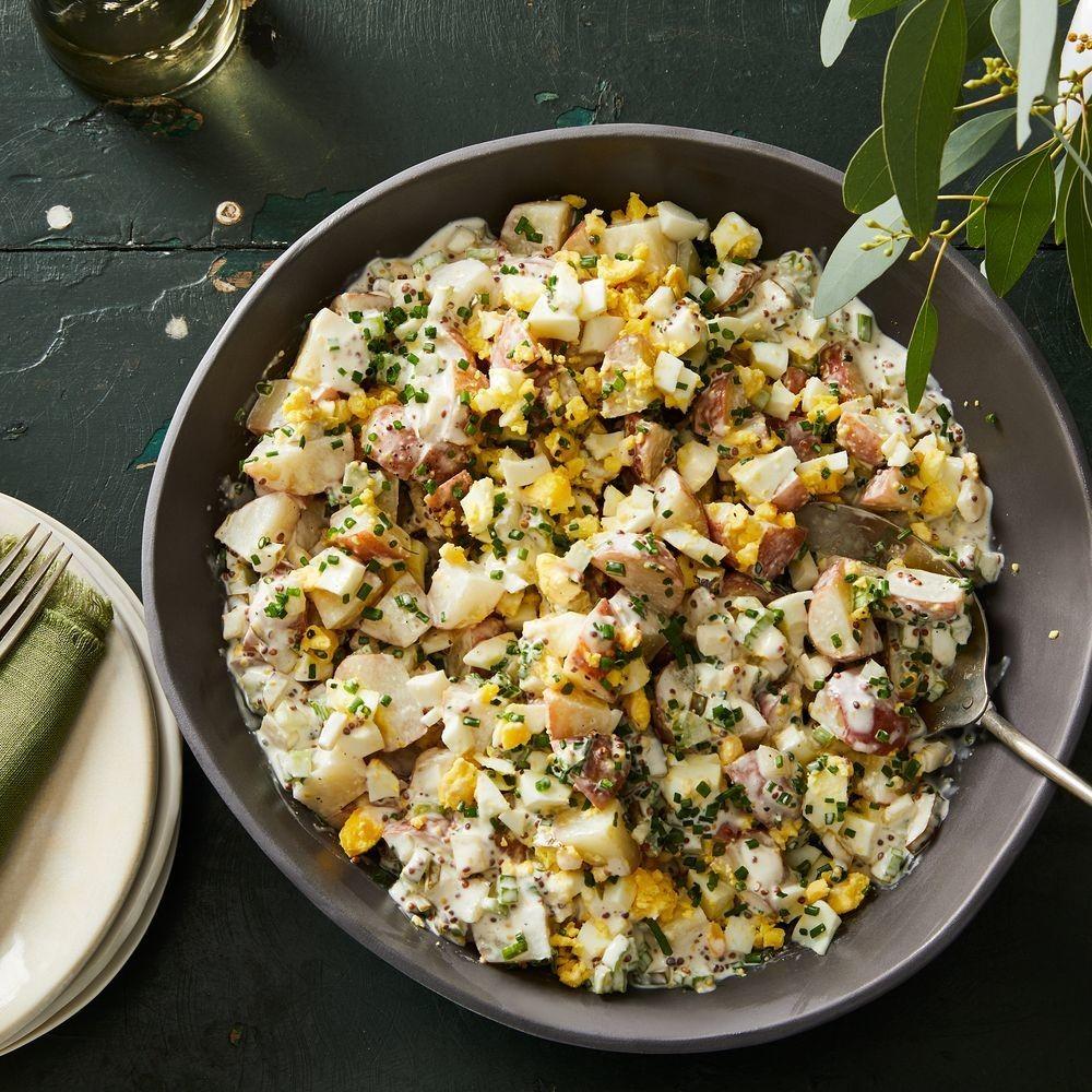 Best Potato Salad Recipe - How to Make Homemade Potato Salad with Egg