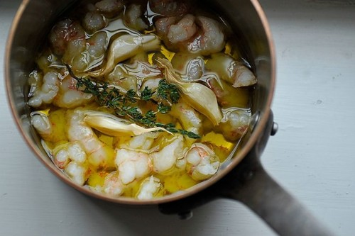 Olive Oil Poached Fish or Shellfish Recipe on Food52