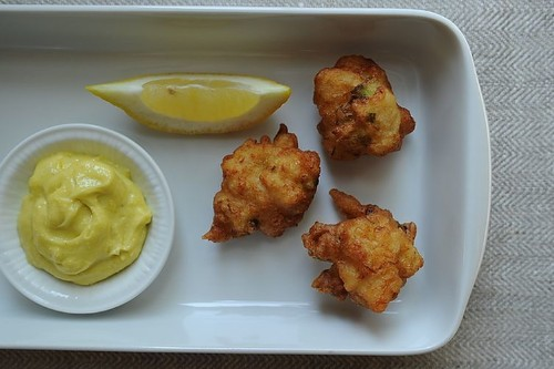 Crab Beignets with Aïoli DippingSauce