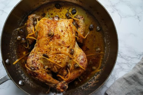 A Whole Roast Chicken Worth Making, Even for One