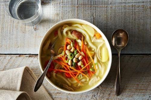Massaman-Inspired Chicken NoodleSoup