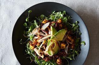 Quinoa & Mango Salad With Lemony-Ginger Dressing Recipe on Food52