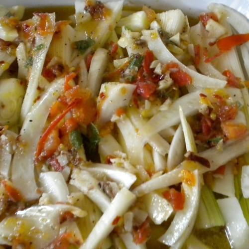 Italian Braised Fennel and Leeks Recipe on Food52