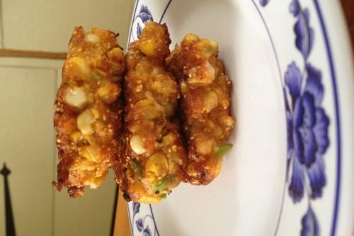 Thai Corn Fritters (Tod Man KhaoPod)
