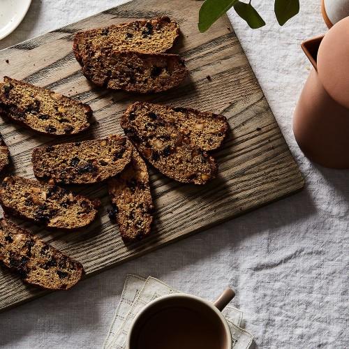 Nutty Cherry Biscotti Recipe on Food52