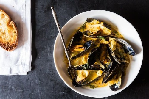 Mussels with Fennel, Italian Sausage & Pernod Recipe on Food52