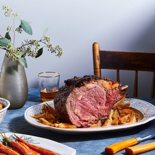 Rib Roast Recipe With Gochujang & Whisky Glaze
