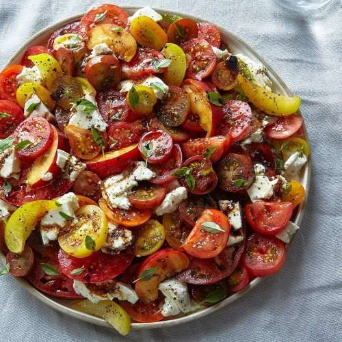 Tomato, Nectarine & Mozzarella Salad Recipe on Food52