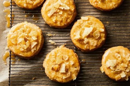 Honey-Butter Chip ShortbreadCookies
