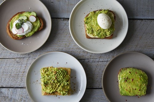 How to Make Avocado Toast - Vegetarian Recipes